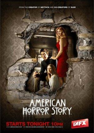 American Horror Story Poster Jessica Lange Evan Peters Sarah Paulson High Quality Gloss Print