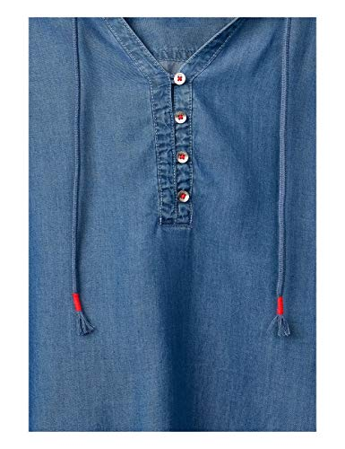 10281 Wash Blu Cecil mid Camicia Blue Donna Axq6XY