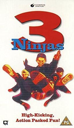 Amazon.com: 3 Ninjas [VHS]: Victor Wong, Michael Treanor ...