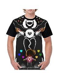 Men's Undertale T-shirt Novelty Graphic Screw-Neck Tee