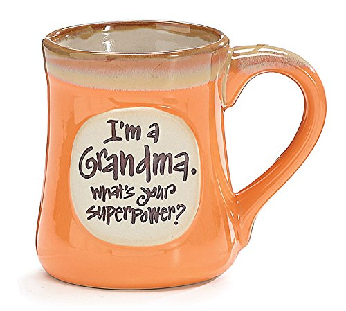 Grandma Whats Superpower Porcelain Coffee