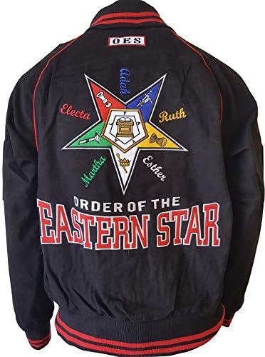 Big Boy Eastern Star Divine Waterproof Ladies Coach//Line Jacket