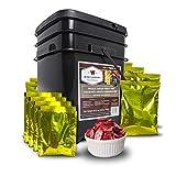 Wise Company Fruit & Snack Bucket 120 Servings, Black/Beige, 7 lb