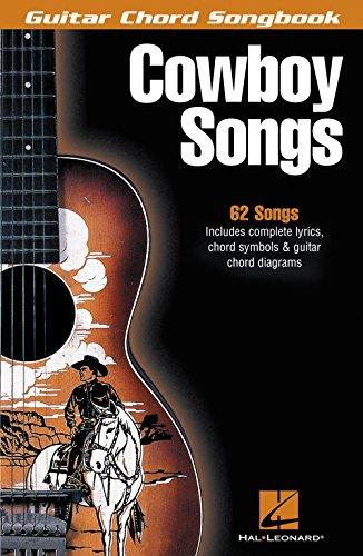 - Hal Leonard Cowboy Songs Guitar Chord Songbook