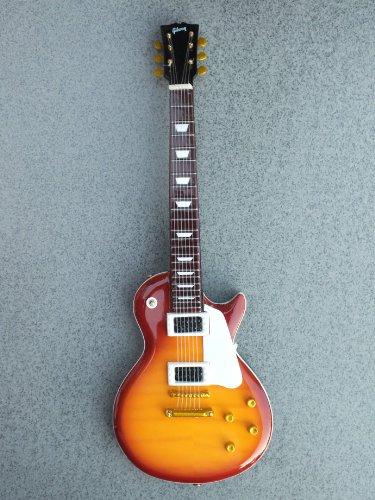 Miniature Authentic - RGM652 Jimmy Page Led Zeppelin Cherry Burst Miniature Guitar