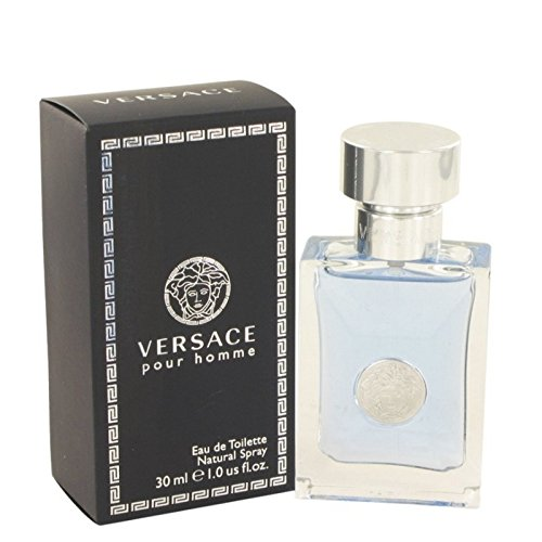 Pour Homme Natural Spray - Versace Pour Homme Eau De Toilette Natural Spray 1.0 oz