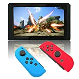 Cheap Silicone Case for Nintendo Switch, Protective Cover Skins for Switch (BlueRed)