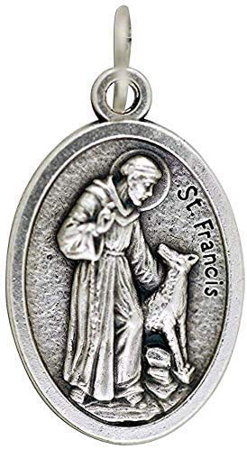 Religious Gifts St Francis Dog Tag - Saint Francis