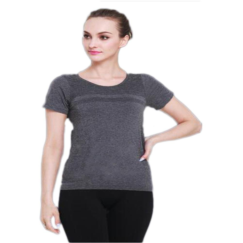 ZGSP Sport T-Shirt Short Sleeves Fitness Clothes Yoga Suits Yoga Short Sleeves(S M L)