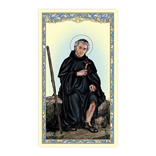 St. Peregrine Paper Holy Card (set of 2 cards)