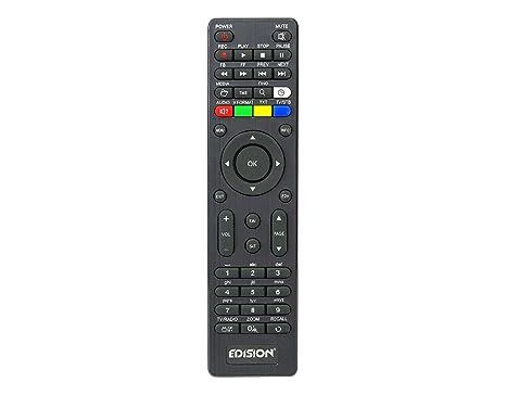 edision telecomando  Edision Piccollo S2 + T2/C telecomando: : Elettronica