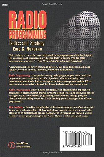 Radio Programming: Tactics and Strategy (Broadcasting & Cable Series) by Focal Press