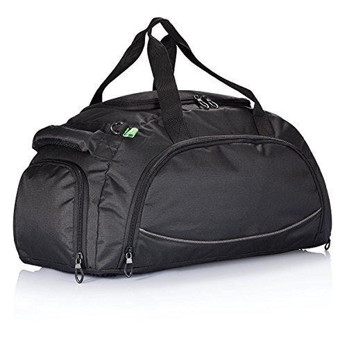 XD Florida PVC Sport-Borsone, 55 cm, 42 l, colore: nero