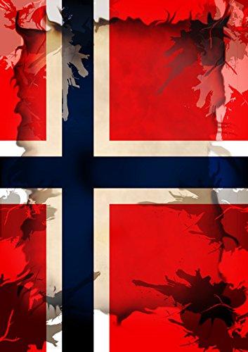 "Disagu Design Case Coque pour Apple iPhone 4s Housse etui coque pochette ""Norwegen"""