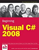 img - for Beginning Microsoft Visual C# 2008 book / textbook / text book