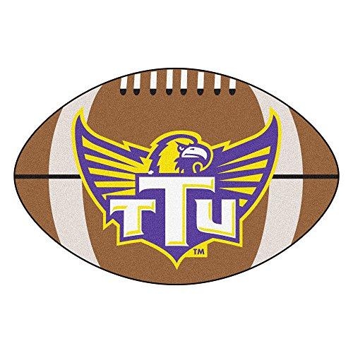 FANMATS NCAA Tennessee Technological Univ Golden Eagles Nylon Face Football Rug
