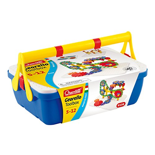 International Playthings Quercetti Georello Toolbox, 165 Pieces