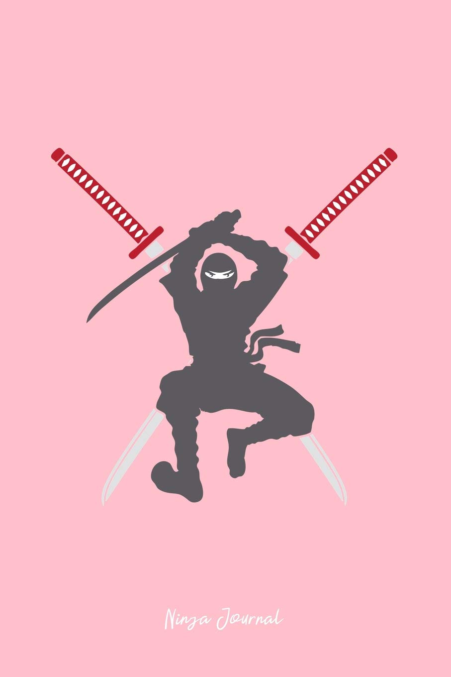 Ninja Journal: Dot Grid Journal - Ninja Samurai Sword Katana ...