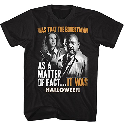Homme D'horreur Effrayant Était Pour De Halloween shirt Tee Slasher American Film Classics YRgq8BP