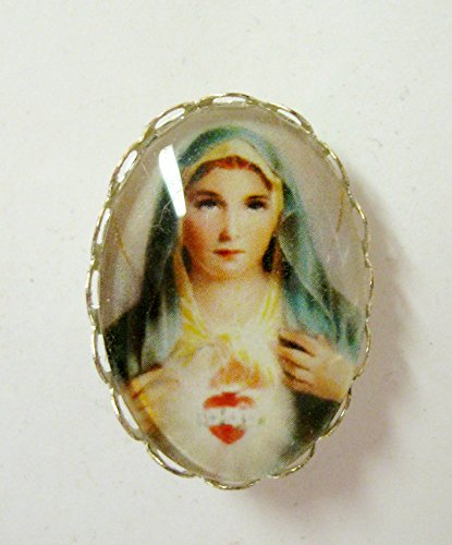 Immaculate heart of Mary brooch - BR01-123 (Heart 123)