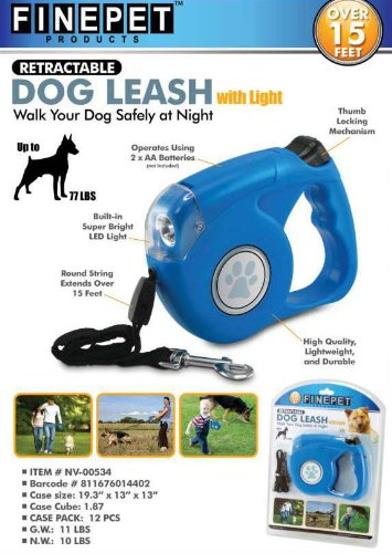 Finepet Retractable Dog Leash Light product image