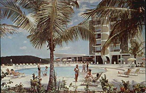 hotel-inter-continental-ponce-pance-puerto-rico-original-vintage-postcard