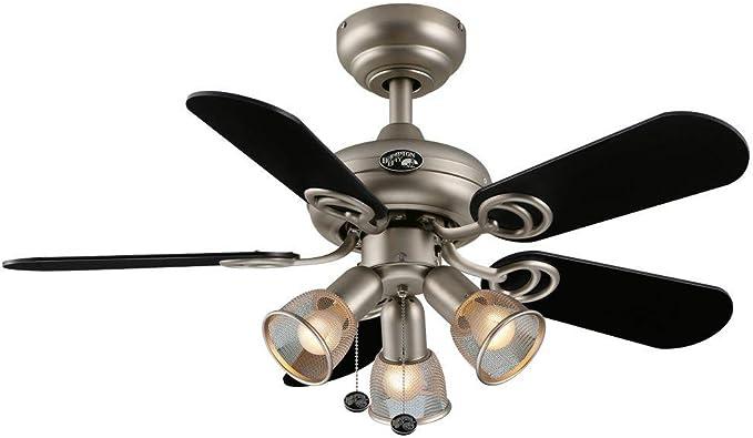 Hampton Bay San Marino 36 in. Brushed Steel Ceiling Fan - - Amazon.comAmazon.com