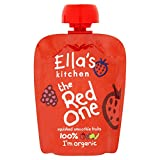 Ella's Kitchen The Red One Smoothie Fruits 90 g (Pack of 24) (Organic)