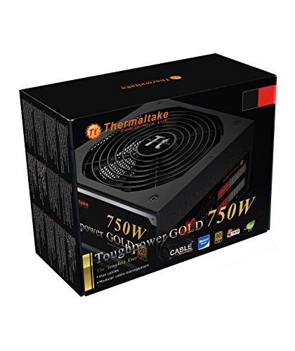 Thermaltake TOUGHPOWER 750W 80 PLUS GOLD Semi Modular Power Supply PS-TPD-0750MPCGUS-1 by Thermaltake (Image #9)