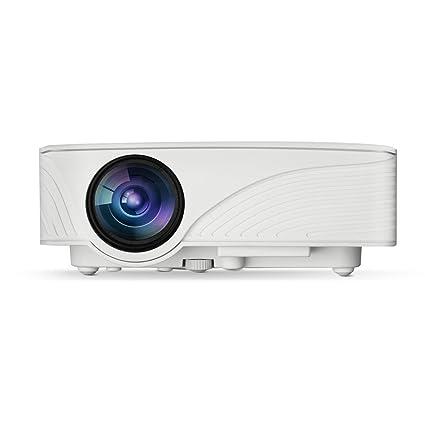exquizon GP12 LED proyector Mini proyector portátil Home Cinema ...