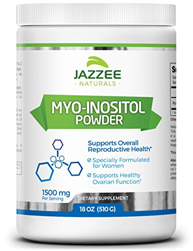 - Myo-Inositol Powder | 18 Ounces (510 g) | 340 Servings | 1500 mg | 100% Pure | Vegetarian / Vegan | PCOS, Ovarian, and Reproductive Support | Promotes Emotional Health and Wellness