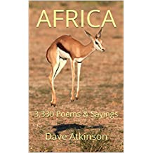 Africa: 3,330 Poems & Sayings