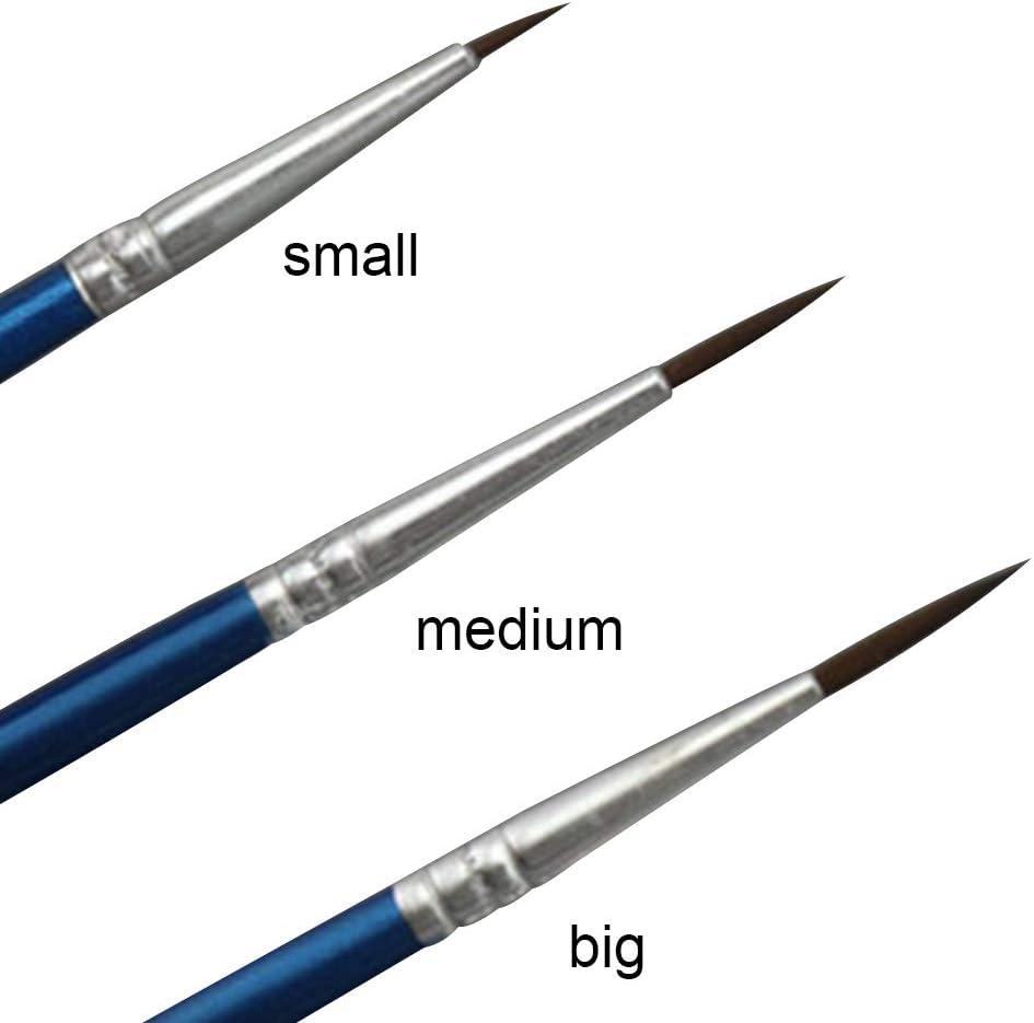 10Pcs//Set Fine Hand-painted Thin Hook Line Pen Drawing Art Pens Paint-Brush
