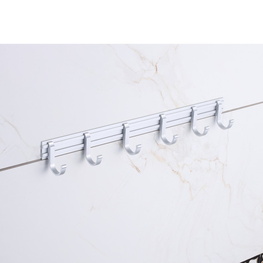 chic bathroom hooks/ Space aluminum hook/ door-back hook/Row/coat and hat hook -E