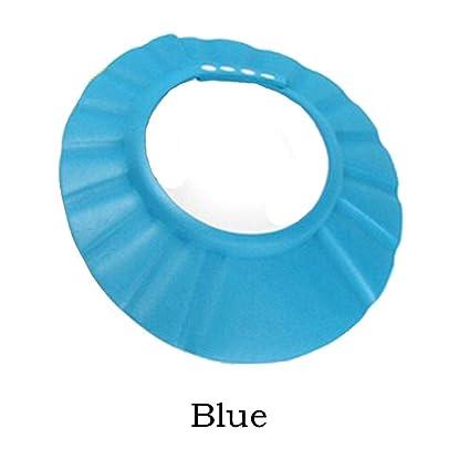 a5fe7446f Amazon.com: DGSD Waterproof Shampoo Caps Bathing Bath Protect Soft ...