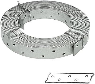 Lochband Stahl verzinkt Montageband 10m