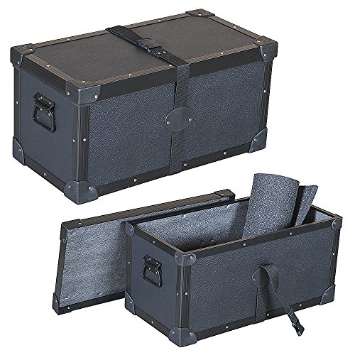 Head Amplifier 1/4 Ply Economy Tuffbox Light Duty Top Loading Road Case Fits SWR Workingman's 4004 Bass ()
