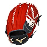 Mizuno Global Elite GGE63 11.50' Infield Adult Men's Baseball Glove - Red & Black