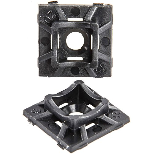 JEGS Performance Products 10675 Wire/Cable Tie Mounts 100/Pkg by JEGS