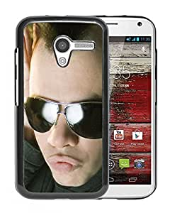 Beautiful Designed Cover Case With Faderhead Iroquois Glasses Head Hands For Motorola Moto X Phone Case