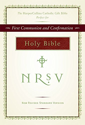 NRSV HarperCollins Catholic Gift Bible - Mall In Santa Clara