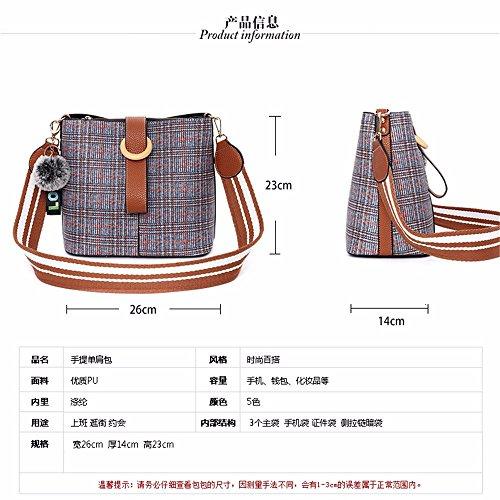 Et Printemps Style Un Épaule Sac Avec Le Cadre cadre D'eau L'été Nouveau Gaoqiangfeng Seau EwYUq5Tx