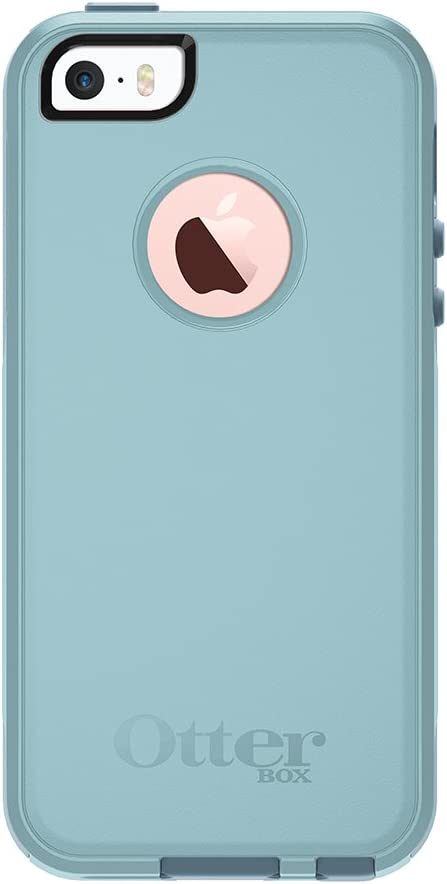 OtterBox COMMUTER SERIES for iPhone 5/5s/SE - Retail Packaging - BAHAMA WAY (BAHAMA BLUE/WHETSTONE BLUE)