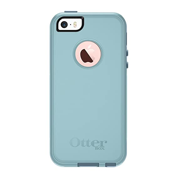 best service 359fa 8aa1b OtterBox COMMUTER SERIES for iPhone 5/5s/SE - Retail Packaging - BAHAMA WAY  (BAHAMA BLUE/WHETSTONE BLUE)