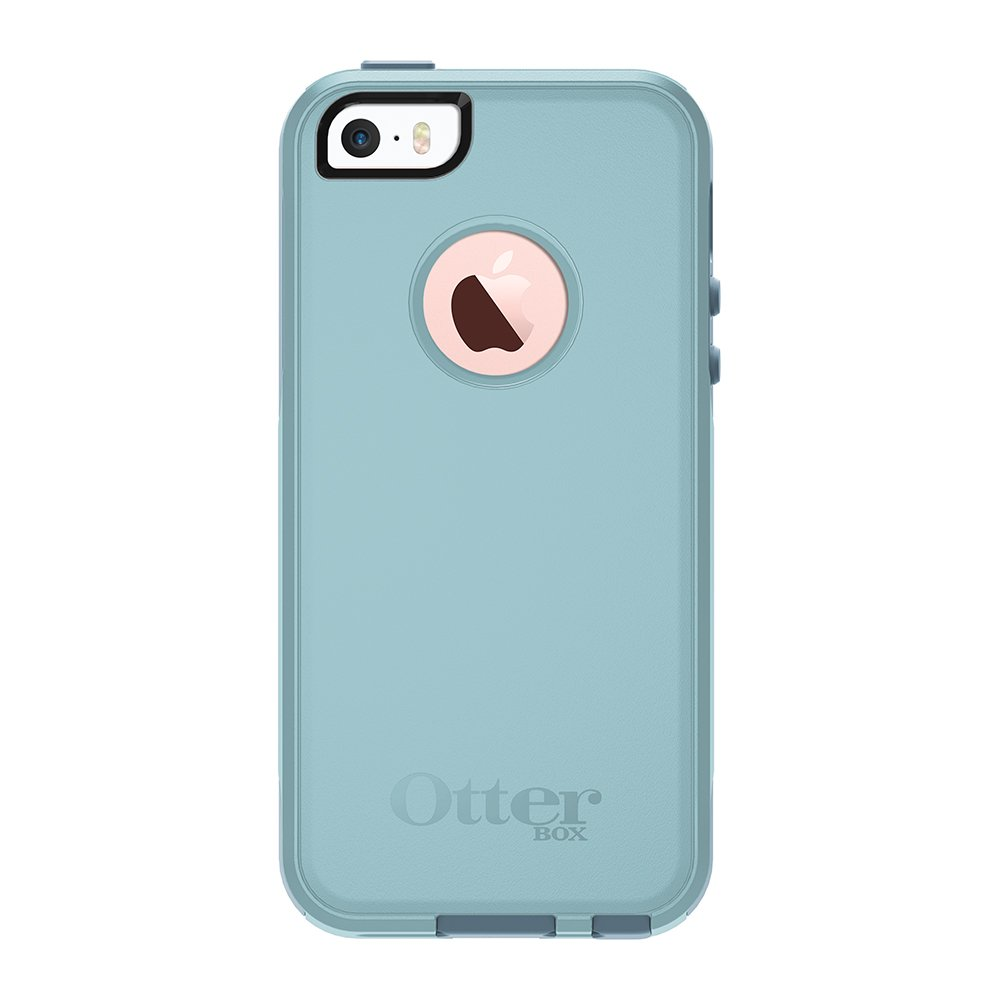 OtterBox COMMUTER SERIES Case for iPhone 5/5s/SE - BAHAMA WAY (BAHAMA BLUE/WHETSTONE BLUE) by OtterBox (Image #1)