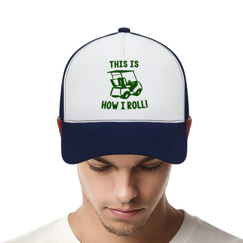 This is How I RollTop Level Baseball Caps Men Women Classic Adjustable Plain Hats Dad Hats