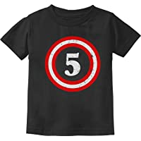 Captain 5th Birthday - Gift for Five Years Old Toddler/Infant Kids T-Shirt