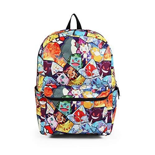 Pokemon All Over Print Backpack School Bag -
