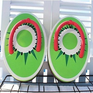 Verde Cn40 Imprimen Personalidad Alpargatas 5 De CN40 Artesanales Forma RTRY UK6 Creativa Fruit Us8 5 Mujeres EU39 De Uk6 US8 Ue39 5 Cute 2017 3D 5 xOqnwFH0n