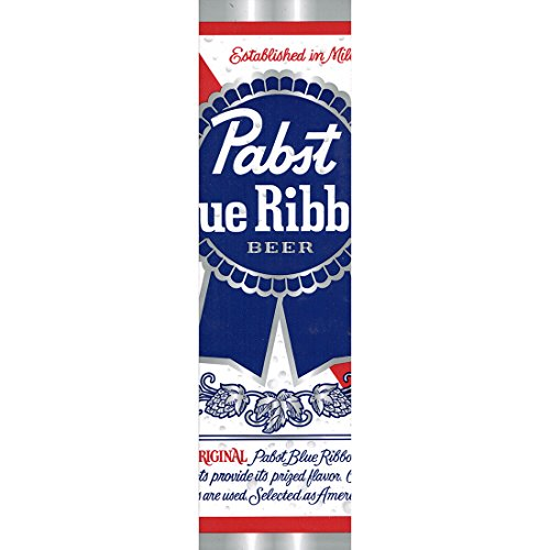Pabst Blue Ribbon Can Bumper Sticker